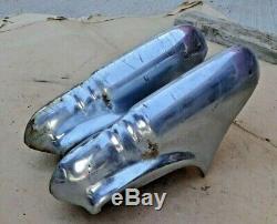 1946 1947 1948 Pontiac REAR BUMPER GUARDS Original GM pair