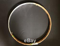1970s Fiamme Ergal 36 hole tubular rims pair, 700c vintage Gold Label RARE NOS