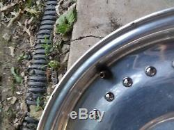 (2) Vintage Centerline Wheels Pair Rims 15x5.5, 3 3/8bs, 5 bp gm 5x5