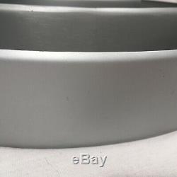 50s Mid Century Modern UFO Chandelier Saturn Ring VTG Light Fixture Kurt Versen