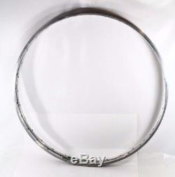 Ambrosio Montereal Rims 32 Holes Silver One Pair Road Bike Vintage N. O. S