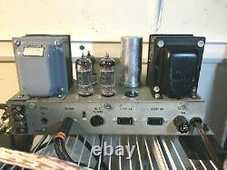 Ampex Vintage 6927 Tube Mono Amplifier Pair