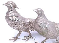 Art Deco Vintage Pair Of XL Peacock or Pheasant Figurines from the 60s