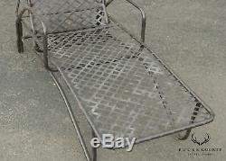 Brown Jordan Tamiami Vintage Pair Outdoor Patio Chaise Lounges