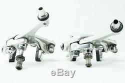 CAMPAGNOLO RECORD BRAKES CALIPERS 90s vintage side pull pair set two brake bike