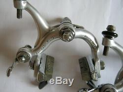 CAMPAGNOLO SUPER-RECORD VINTAGE BRAKE CALIPERS, LATE 70's, PAIR, VVGC