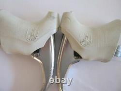 Campagnolo Athena Vintage Brake Levers, Pair With White Hoods, Vgc