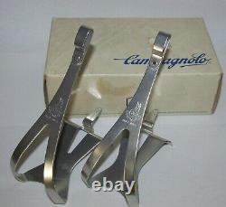 Campagnolo Superleggeri Large Alloy 0990/05 Toe Clips NEW NOS Vintage-Rare
