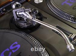 Exc++ Technics SL1200MK3 2 Turntable Pair Dj Black Direct Player Vintage Rare