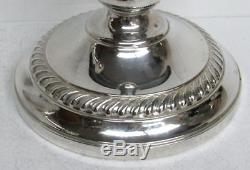 Fantastic Vintage Pair Sterling Silver 3 Light 16 Inch Candelabras