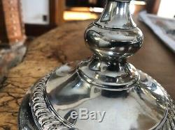 GORGEOUS Pair Vintage 16 PREISNER Sterling 3 Branch Candelabras candlestick 743