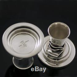 Georg Jensen. A pair of Sterling Silver Candlesticks #604 A VINTAGE