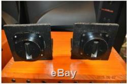 JBL 2405H Diffraction Horn Tweeter PAIR USED JAPAN USA vintage altec lansing