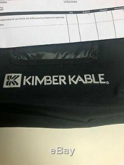 Kimber Kable AGDL Silver Digital Cable, Xlr, 20 Feet Pair Authentic Vintage