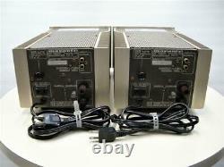 Marantz MA-7 Monoblock Power Amplifier Stereo PAIR USED JAPAN 100V vintage RARE