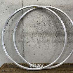 NOS PAIR Campagnolo OMEGA 19 Rims 6802 Alloy T6 Clincher 700c 36H Vintage