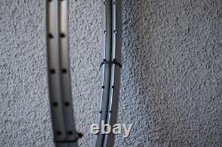 NOS PAIR of MAVIC CXP30 Clincher 32h Silver Classic 90's Vintage