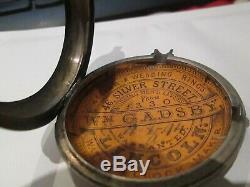Nice vintage silver hallmarked pocket watch pair case