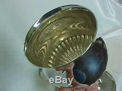 PAIR (2) Vintage Reed Barton 1949 Sterling Silver 6-1/4 WINE GOBLETS EXCELLENT