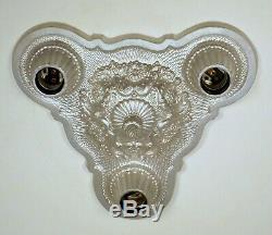 PAIR AVAILABLE Vintage 1920's Victorian Art Deco Ceiling Light Fixture RESTORED