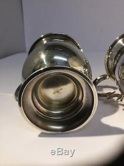 PAIR Of Vintage Sterling Silver Tankards / Mugs / William Adams, Bham, 1952