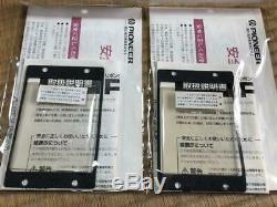 PIONEER PT-R9 Super Ribbon Tweeter PAIR USED JAPAN speaker tad vintage exclusive