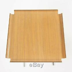 Pair Early 1950s George Nelson & Associates Herman Miller 4950 Tray Side Tables