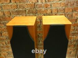 Pair Of Monitor Audio Silver 5i Vintage Bi-Wire Floorstanding Loudspeakers