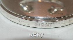 Pair Of Vintage Elkington & Co Silver Double Candelabra Birmingham, 1965