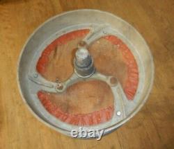 Pair Vintage Cast Aluminum Soda Fountain Stools Bar Stool Candy Shoppe