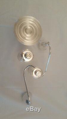 Pair Vintage Duchin Sterling Silver 3-light 11½ Candelabra/Candlesticks