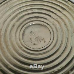 Pair Vintage Poole Sterling Silver 5-Lite 10.5 Candelabra / Candlesticks