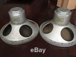 Pair Vintage Tannoy Silver 15 LSU/HF/15L Driver
