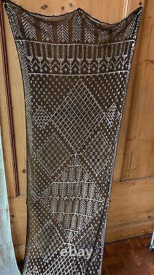 Pair of 2X Antique Assuit Shawls 1920s vintage