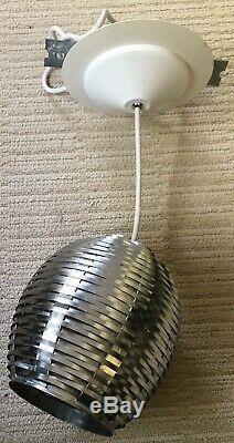Pair of Ron Rezek Pendant Lights. Excellent Cond. Vintage mid-century Design