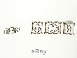 Pair of Sterling Silver Goblets Vintage Elizabeth II