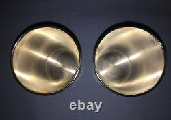Pair of Vintage Sterling Silver Mint Julep Cups by Harry McCord Kentucky withMono