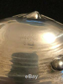 Pair of Vintage Wallace Sterling Silver Clam Shell Dishes