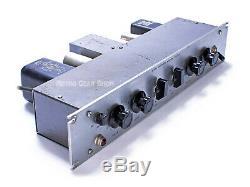 Pultec EQH-2 Program Equalizer Rare Vintage Tube EQ Silver Stereo Pair EQH2