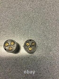 Rat Rod Old Vintage Wiring Connector X2 == 1 Pair Headlight Head Light Lamp Scta