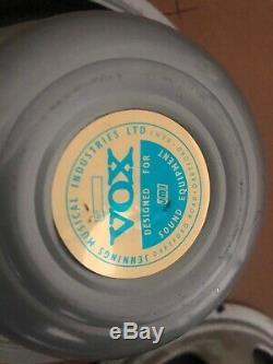 SUPER BEATLE 1967 Vintage Vox / Jennings / JMI / Celestion Silver Bell 12 Pair