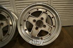 Set of (2) SSR MK2 Wheels 15x6.5 4x114.3 JDM Wheels Rare Vintage 15 pair MK-2
