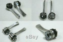 Shimano Dura-Ace SL-7700 2-/3-/9-speed Shift Levers for Vintage Frames 1 Pair