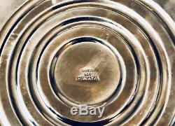 Stunning Vintage Miyata Japanese. 950 Sterling Silver Candelabra Pair 3 LBS