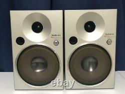 Technics SB-F08 Speaker Pair High Sound Quality Used Working Vintage Rare Japan