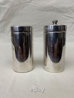 Tiffany & Co. Sterling Silver Pair Of Fine Vintage Salt & Pepper Shaker