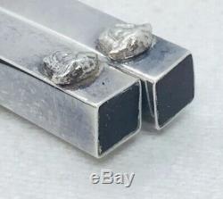 Versace Rosenthal Vintage Sterling Silver Pair Chopsticks