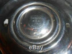 Vintage Gorham Sterling Silver Strasbourg Pattern 1130 Candle Stick 9 PAIR