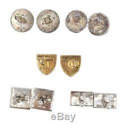 Vintage Lot of Asstd PYRRHA FENWICK &SAILORS Sterling Silver Cufflinks 5 pairs