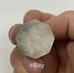 Vintage Miniature Sterling Silver Salt Pepper Shaker Set 15pcs, 7 pairs